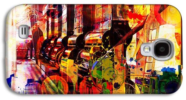 Ornamental Digital Art Galaxy S4 Cases - Machine Age-1 Galaxy S4 Case by Gary Grayson