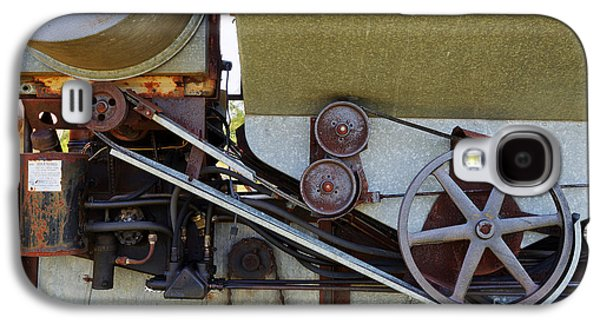 Machinery Galaxy S4 Cases - Machinery Detail No 2 Galaxy S4 Case by Ken DePue