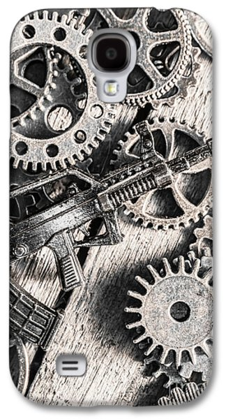 Machines Of Military Precision  Galaxy S4 Case by Jorgo Photography - Wall Art Gallery