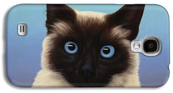Cat Galaxy S4 Case - Machka 2001 by James W Johnson