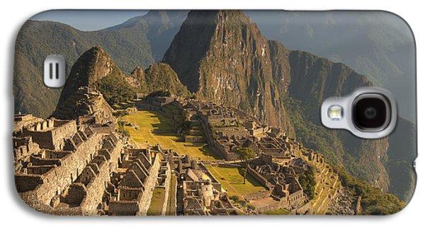 Machu Picchu At Dawn Near Cuzco Peru Galaxy S4 Case