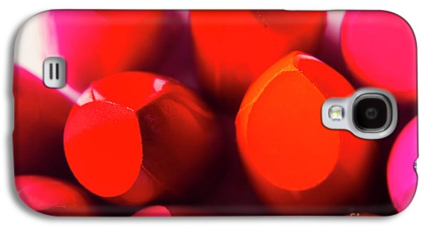 Galaxy S4 Case featuring the photograph Macro Cosmetic Art by Jorgo Photography - Wall Art Gallery