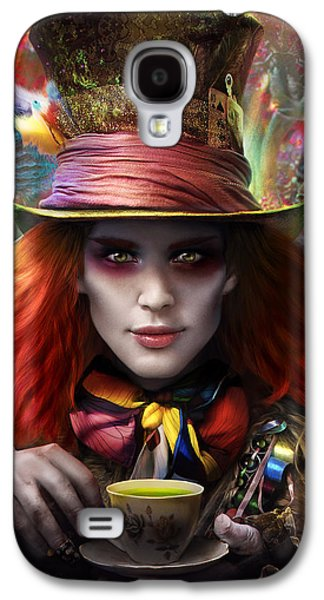 Mad As A Hatter Galaxy S4 Case
