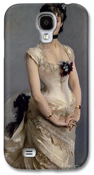 Madame Paul Poirson Galaxy S4 Case by John Singer Sargent