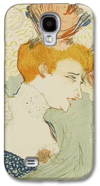 Mademoiselle Marcelle Lender Galaxy S4 Case by MotionAge Designs
