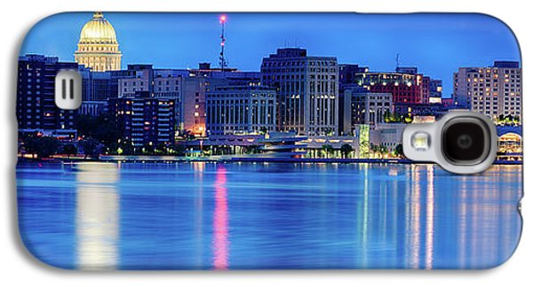 Madison Skyline Reflection Galaxy S4 Case
