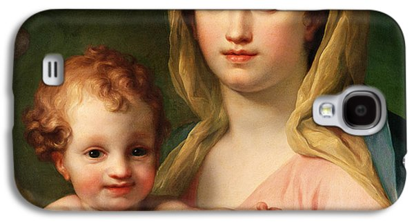 Madonna And Child Galaxy S4 Case by Anton Raphael Mengs