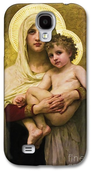 Madonna And Child Galaxy S4 Case by Colleen Kammerer