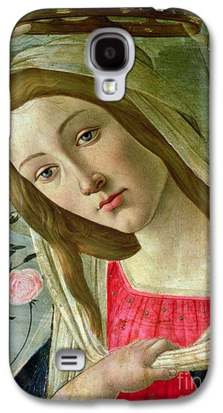 Madonna And Child Crowned By Angels Galaxy S4 Case by Sandro Botticelli