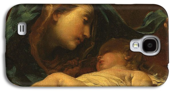 Madonna And Child Galaxy S4 Case by Giuseppe Maria Crespi