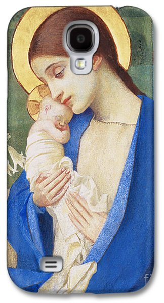 Madonna And Child Galaxy S4 Case by Marianne Stokes
