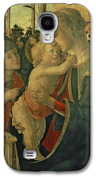 Madonna And Child With St. John The Baptist Galaxy S4 Case by Sandro Botticelli