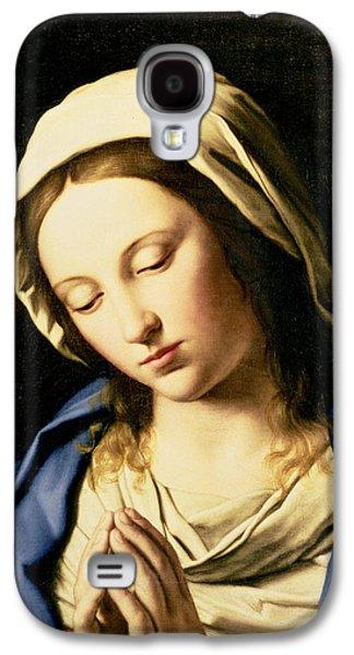 Madonna At Prayer Galaxy S4 Case by Il Sassoferrato