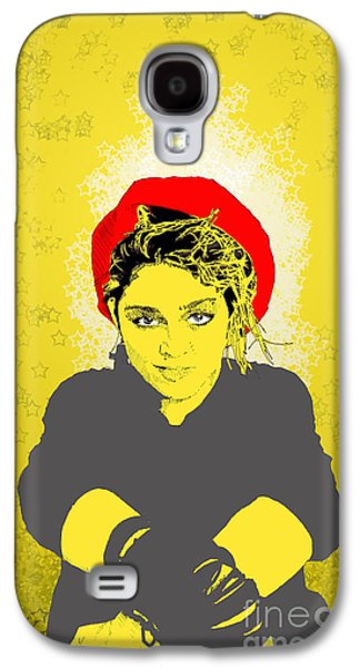 Madonna On Yellow Galaxy S4 Case