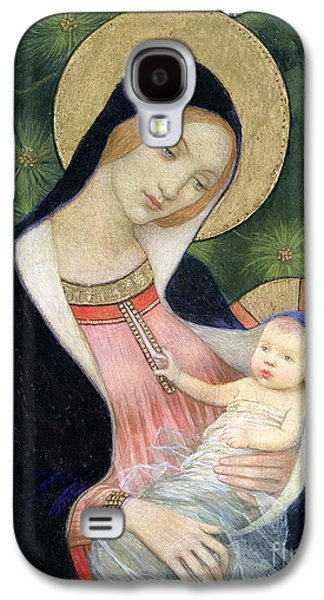 Madonna Of The Fir Tree Galaxy S4 Case by Marianne Stokes