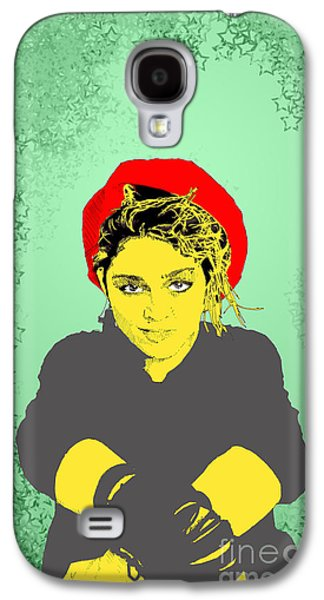 Madonna On Green Galaxy S4 Case
