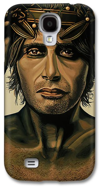 Mads Mikkelsen Painting Galaxy S4 Case by Paul Meijering