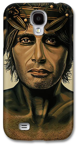 Mads Mikkelsen Painting Galaxy S4 Case