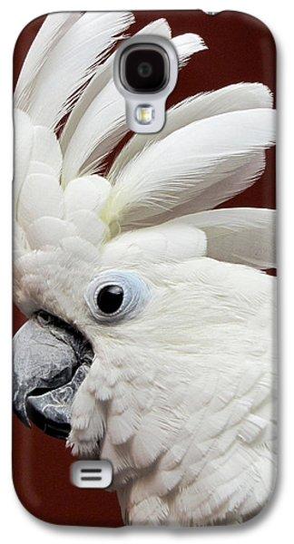 Maggie The Umbrella Cockatoo Galaxy S4 Case