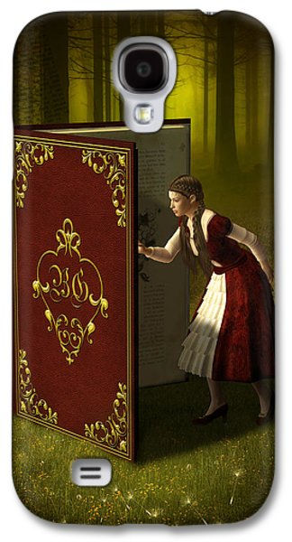 Magic Book Of Tales Galaxy S4 Case by Britta Glodde
