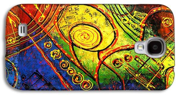 Magic Guitar Galaxy S4 Case by Leon Zernitsky