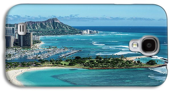 Helicopter Galaxy S4 Case - Magic Island To Diamond Head by Sean Davey