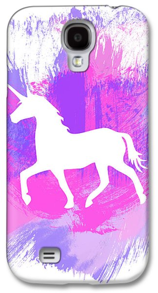 Magician Galaxy S4 Case - Magic Unicorn 1- Art By Linda Woods by Linda Woods