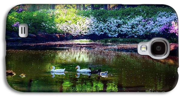Galaxy S4 Case - Magical Beauty At The Azalea Pond by Tamyra Ayles