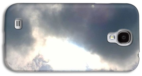 Sky Galaxy S4 Case - Magical #clouds Today :-) #sky #weather by Shari Warren
