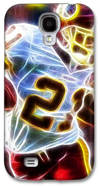 Nfl Galaxy S4 Cases - Magical Sean Taylor Galaxy S4 Case by Paul Van Scott