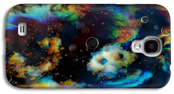 Magnetic Midnight Galaxy S4 Case by Betsy Knapp