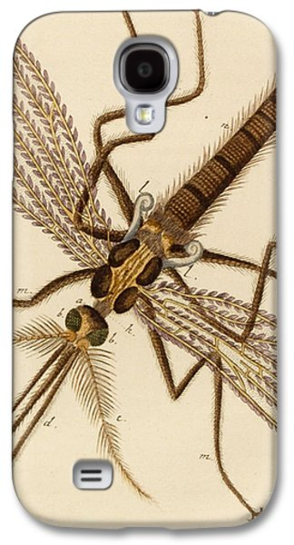 Magnified Mosquito Galaxy S4 Case by German School