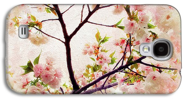 Galaxy S4 Case featuring the photograph Asian Cherry Blossoms by Jessica Jenney