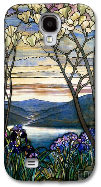 Magnolias And Irises Galaxy S4 Case by Louis Comfort Tiffany