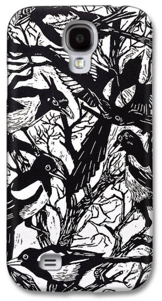 Magpies Galaxy S4 Case