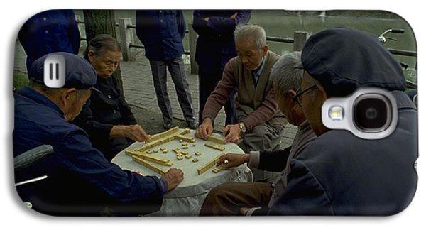 Mahjong In Guangzhou Galaxy S4 Case