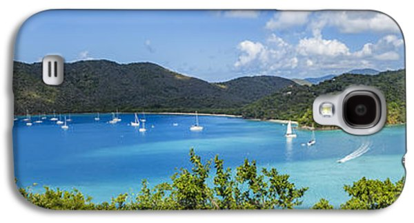 Galaxy S4 Case featuring the photograph Maho And Francis Bays On St. John, Usvi by Adam Romanowicz