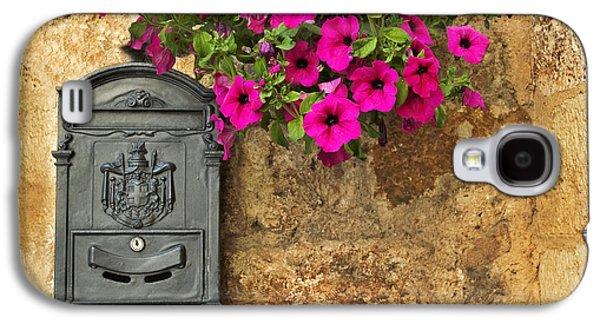 Mailbox With Petunias Galaxy S4 Case