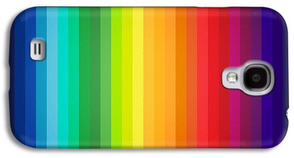 Main Colors Palette Spectrum Galaxy S4 Case