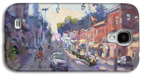 Downtown Galaxy S4 Case - Main St Georgetown Downtown  by Ylli Haruni