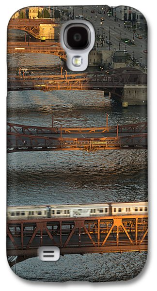 Main Stem Chicago River Galaxy S4 Case by Steve Gadomski