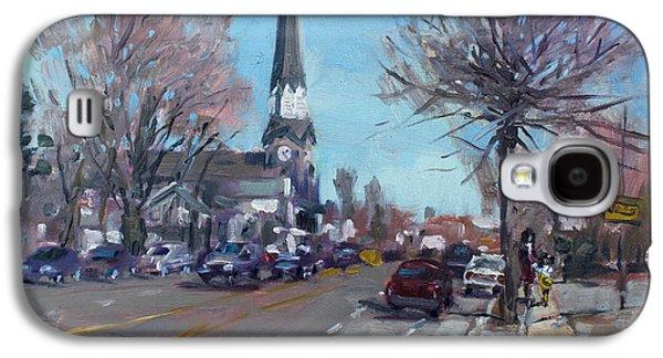 Main Street In Williamsville Galaxy S4 Case by Ylli Haruni
