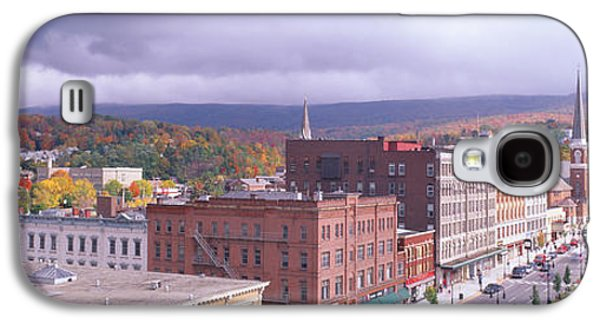 Business Galaxy S4 Cases - Main Street Usa, North Adams Galaxy S4 Case by Panoramic Images