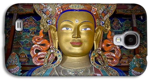 Maitreya Buddha Galaxy S4 Case by Hitendra SINKAR