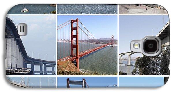 Majestic Bridges Of The San Francisco Bay Area 20150102 Galaxy S4 Case