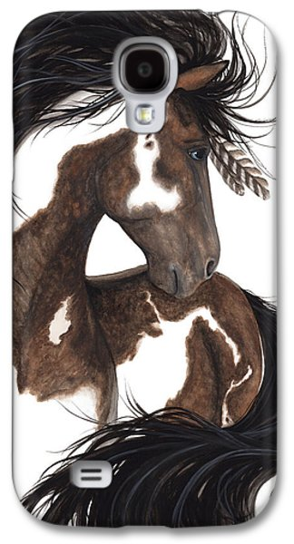 Majestic Dream Pinto Horse Galaxy S4 Case by AmyLyn Bihrle