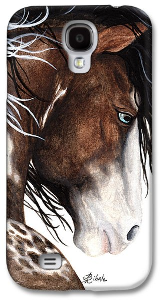 Majestic Pinto Horse 140 Galaxy S4 Case by AmyLyn Bihrle