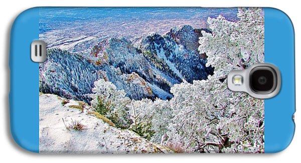 Majestic Snow Galaxy S4 Case by Lois Rivera