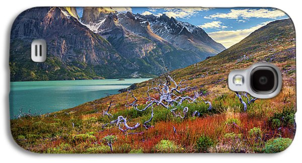 Majestic Torres Del Paine Galaxy S4 Case by Inge Johnsson