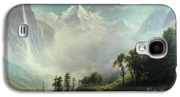 Majesty Of The Mountains Galaxy S4 Case by Albert Bierstadt